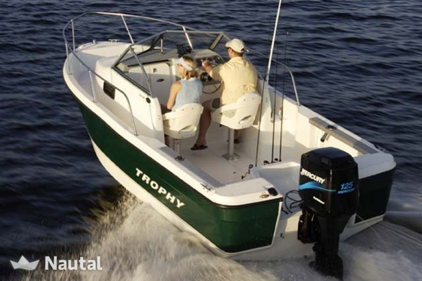 Fishing boat rent Trophy 1802 in The Inlet Marina, Sydney | Nautal