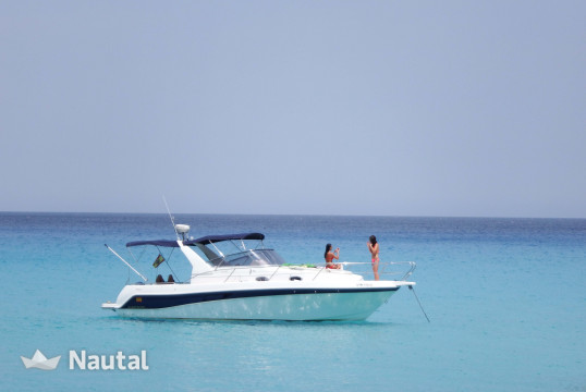 Motorboat rent Faeton 9,80 in Ciutadella, Menorca