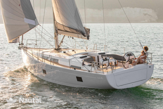Sailing boat rent Hanse Yachts  458 in Lavrio Port, Athens