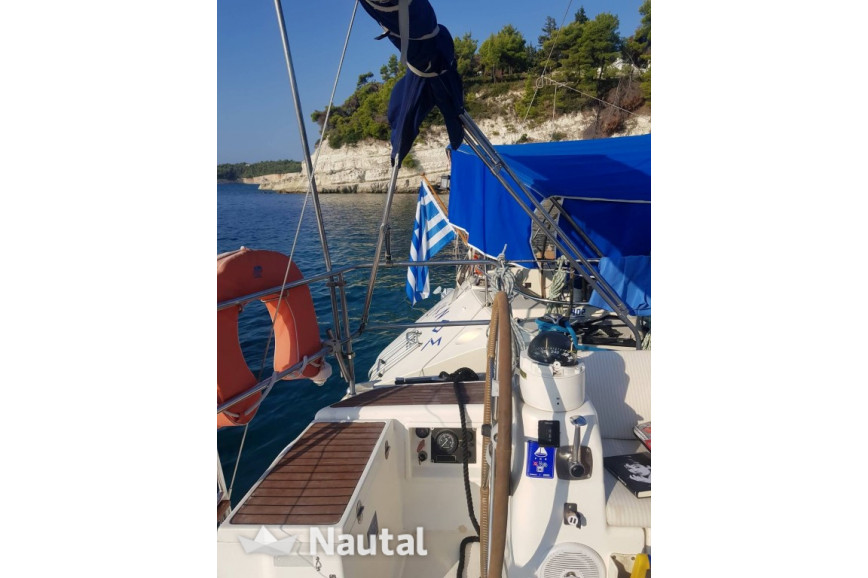 Sailing boat rent Dufour 38,5 in Neos Marmaras Port, Chalkidiki
