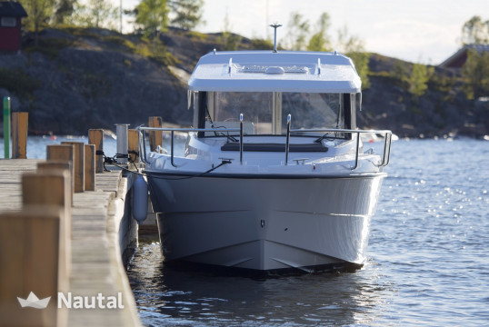 Motorboat rent Finnmaster P7 in Hafen Baltic Bay, Baltic Sea - Kiel