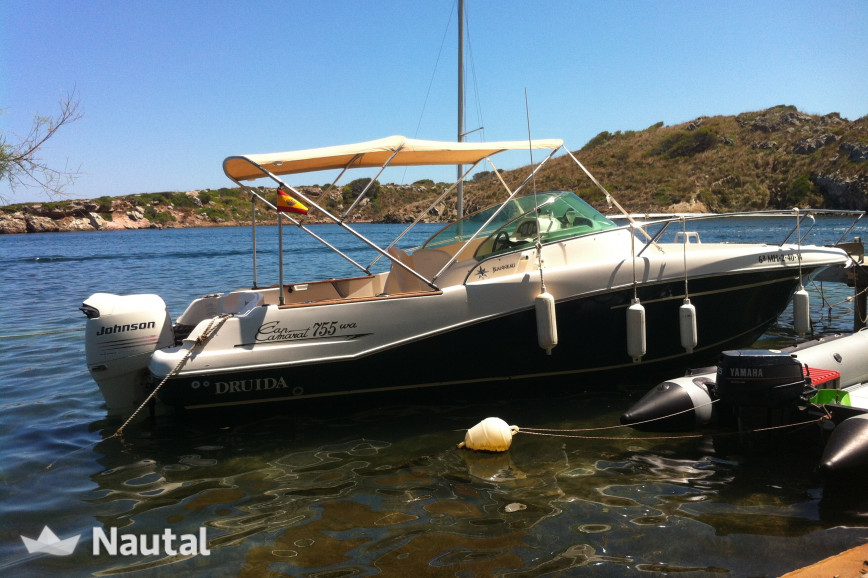 Motorboat rent Jeanneau Cap Camarat 755 Walk Around in Port d'Addaia, Menorca