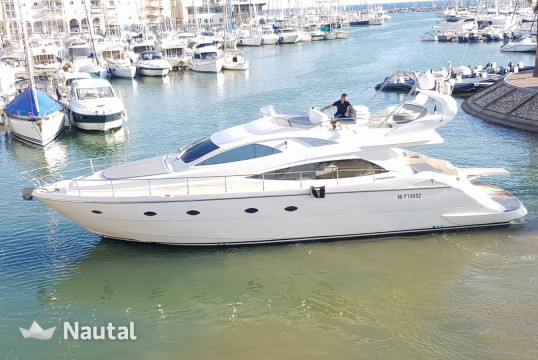 Yacht rent Aicon Yachts 56 Fly in Saint-Tropez, Var