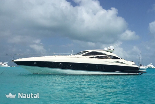 Alquilar yate Sunseeker 70 ft en Miami Beach, Florida del Sur