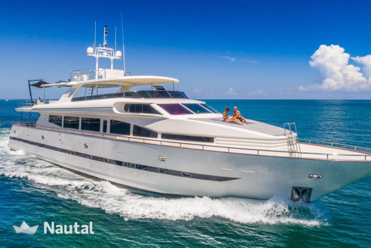 Yacht rent Horizon 115' Horizon in Miami Beach, South Florida