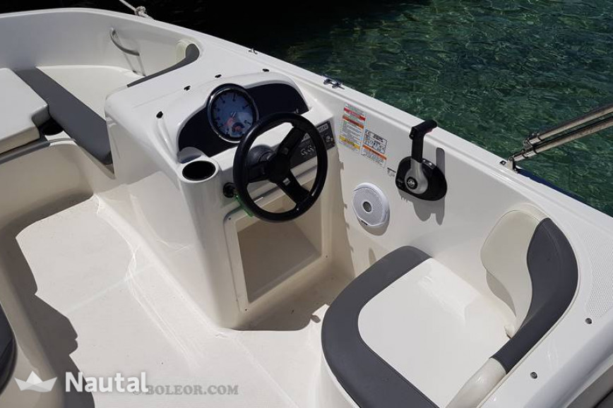 License free boat rent Bayliner B540 Gaia (without licence) in Can Pastilla, Mallorca