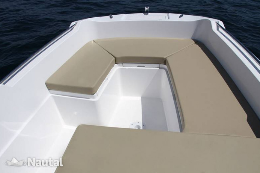 License free boat rent V2 B500 Perseis (without licence) in Can Pastilla, Mallorca