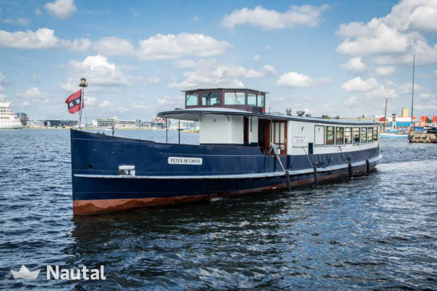 Motorboat rent Custom Salonboot in Amsterdam , North Holland