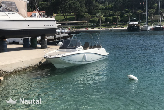Motorboat rent Quicksilver 605 in Marina Vinišće, Split, Hvar
