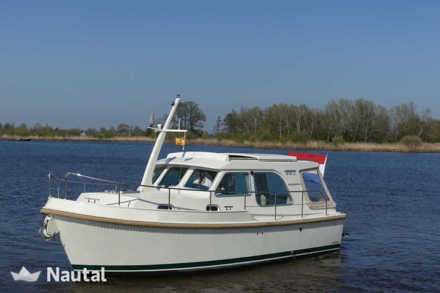 Huur motorboot Linssen Yachts Grand Sturdy 25.9 sedan variotop in Burgemeester de Hooppark, Friesland