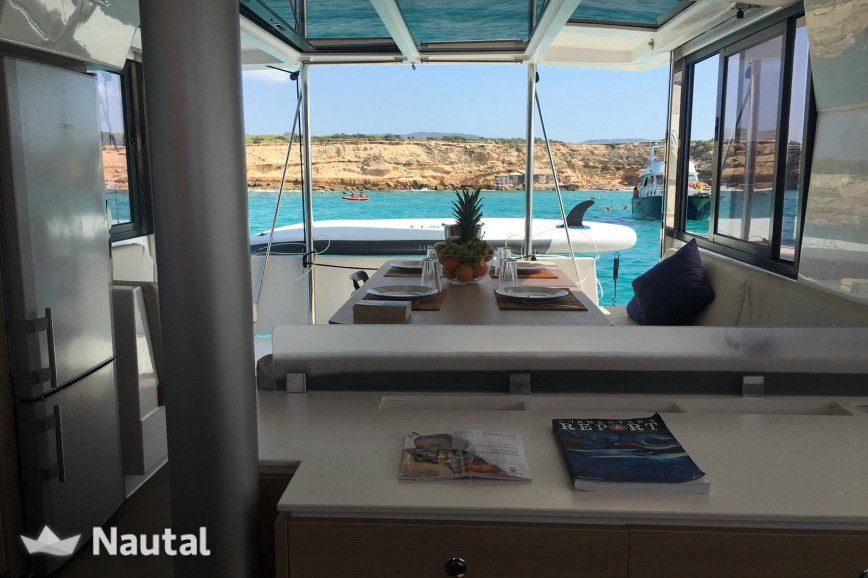 Catamaran rent Bali Catamarans  4.0 in Port de Sant Antoni, Ibiza