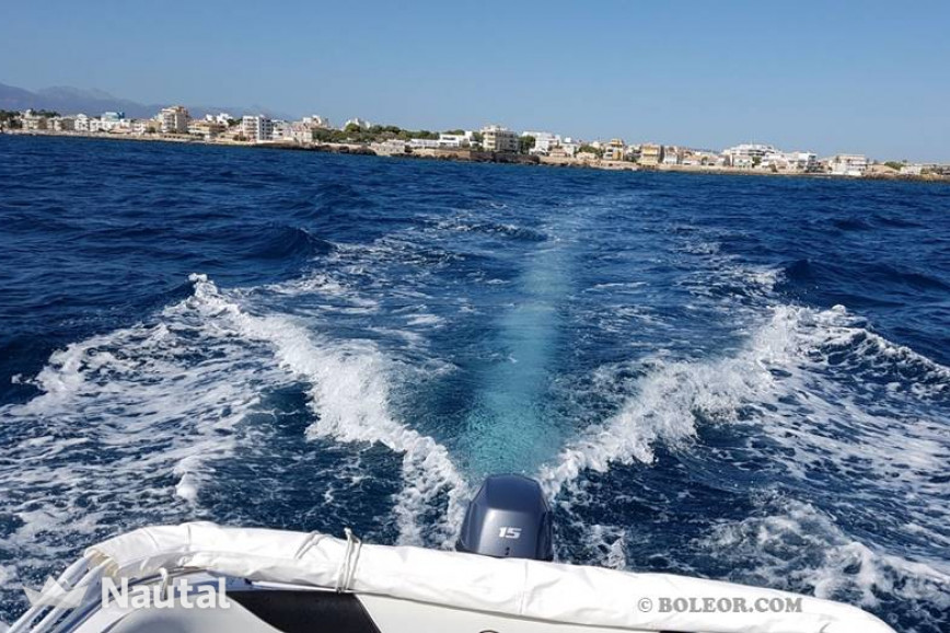 License free boat rent Marinello B460 TRESA (without licence) in Can Pastilla, Mallorca