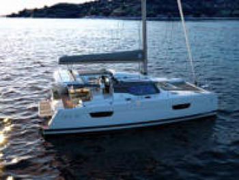 Catamaran rent Fountaine Pajot Astrea 42 O.V. with watermaker in Jolly Harbour Marina, Antigua and Barbuda