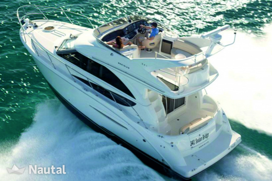 Yacht rent Meridian Yachts 341 Flybridge in Aventura, South Florida