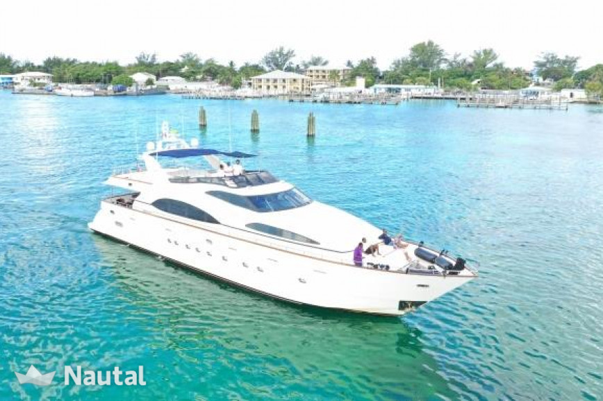 Yacht rent Azimut Flybridge in Downtown Miami, South Florida