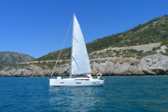 Sailing boat rent Dufour 410 Grand Large in Port Ginesta, Barcelona