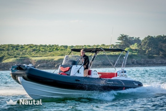 Rib rent Ranieri CAYMAN 26 in Port du Crouesty, Morbihan - Crouesty
