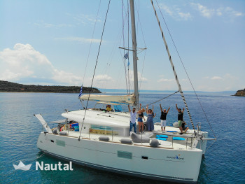 Catamaran rent Lagoon 400 in Ormos Panagias, Greece, Chalkidiki