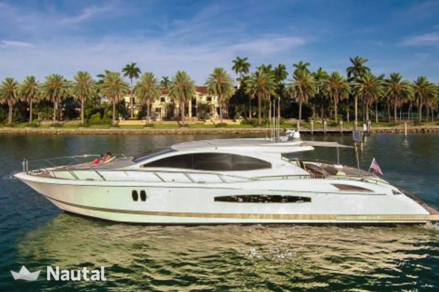 Yacht Lazzara 75 In Miami Beach