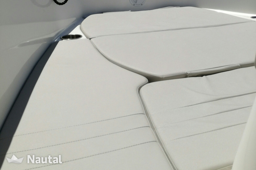 Motorboat rent Quicksilver 555 Open Active in Port Ginesta, Barcelona