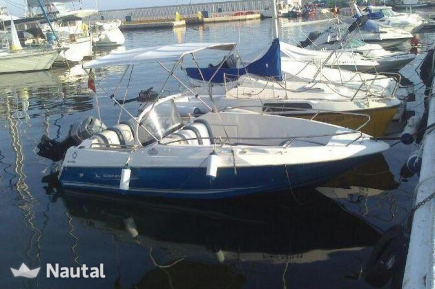 License free boat rent Quicksilver 520 Open in Sirmione, Lake of Garda