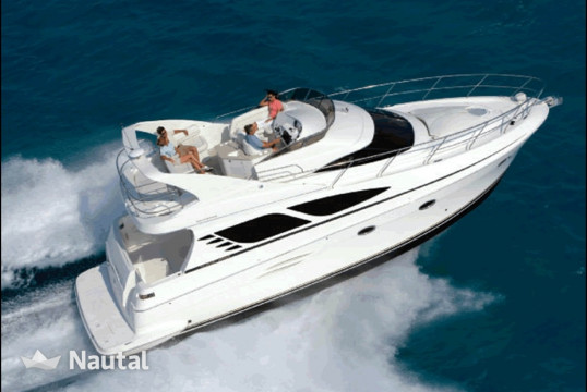 Motorboat rent Silverton yachts 42 in Aquatours Marina, Cancun