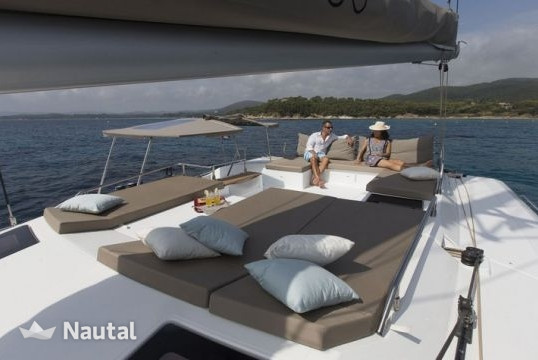 Huur catamaran Fountaine Pajot Saba 50 in Port du Marin, Martinique