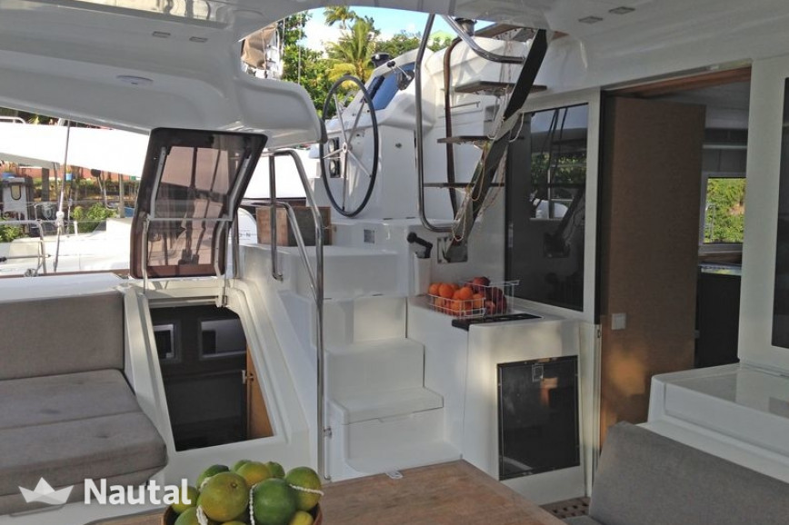 Catamaran rent Lagoon  52 SporTop in Port du Marin, Martinique
