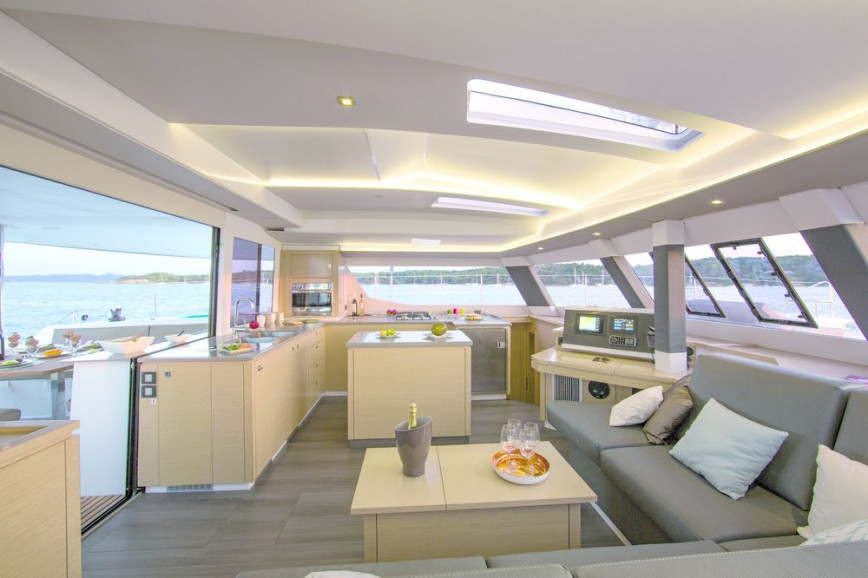 Huur catamaran Fountaine Pajot Saba 50 in Annapolis, Maryland