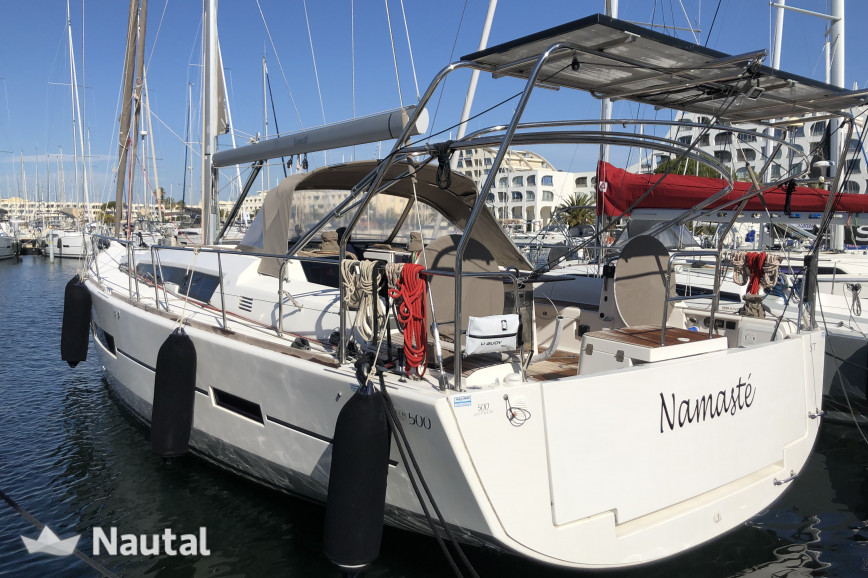 Sailing boat rent Dufour Yacht 500 GL in Zeas Port, Athens