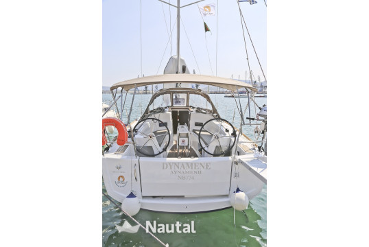 Sailing boat rent Jeanneau Sun Odyssey 349 in Port of Volos, Thessaly