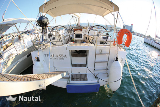 Sailing boat rent Beneteau Oceanis 40 in Port of Volos, Thessaly