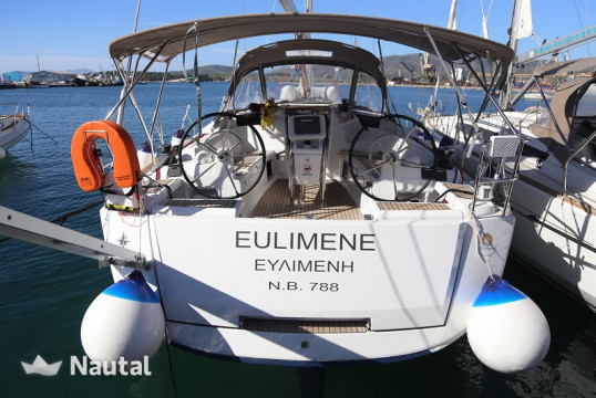 Sailing boat rent Jeanneau Sun Odyssey 419 in Port of Volos, Thessaly
