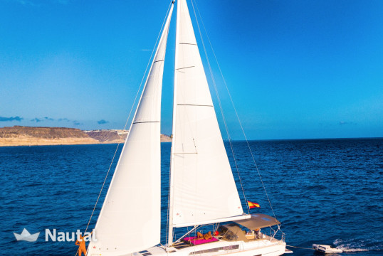 Sailing boat rent Dufour 460 Grand Large in Puerto de Mogán, Gran Canaria