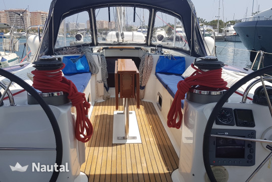 Sailing boat rent Benetau Beneteau 50 in Port d'Eivissa, Ibiza