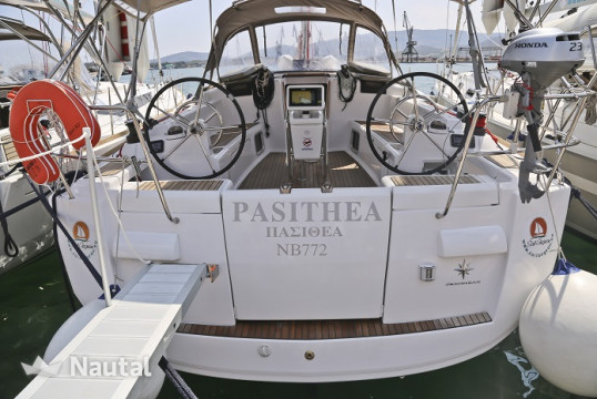 Sailing boat rent Jeanneau Sun Odyssey 439 in Port of Volos, Thessaly
