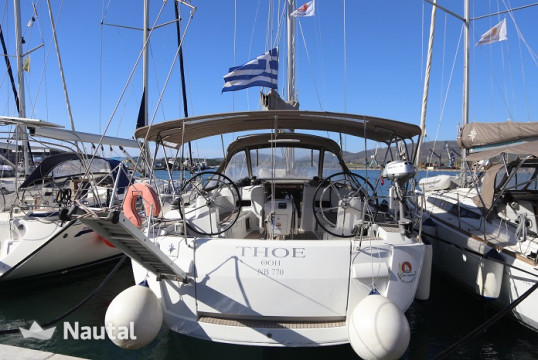 Sailing boat rent Jeanneau Sun Odyssey 469 in Port of Volos, Thessaly