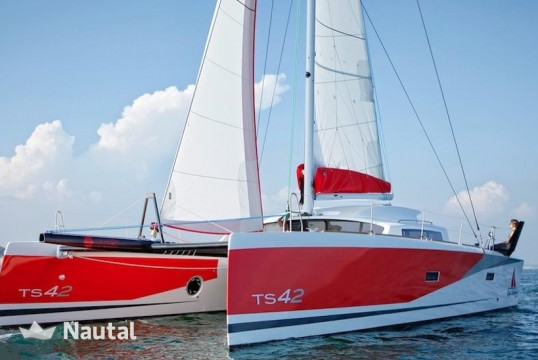 Catamaran rent MARSAUDON COMPOSITES TS 42 with watermaker in Port du Marin, Martinique
