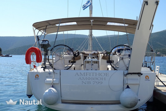 Sailing boat rent Jeanneau Sun Odyssey 519 in Port of Volos, Thessaly