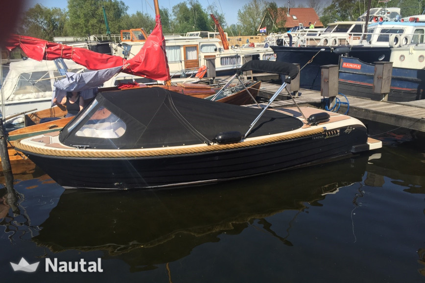 Fishing boat rent Liberty and Karavoskaro Tender 5.90 in Centrum Almere Haven, Flevoland
