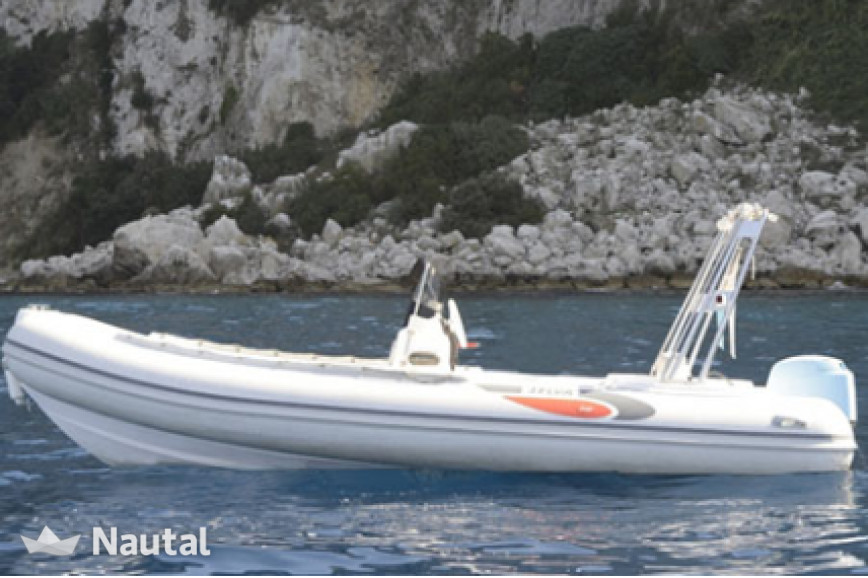 Rib rent Custom Stilmar 600 in Porto di Sorrento, Campania
