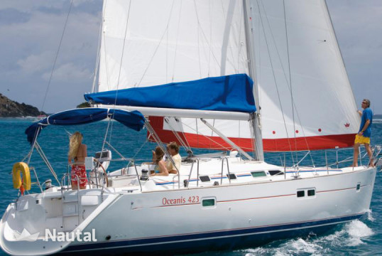 Sailing boat rent Beneteau Oceanis 42.3 in San Vincenzo Marina, Tuscany