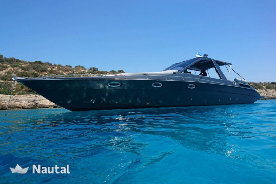 Motorboat rent Stealth 41 in Khania, Crete