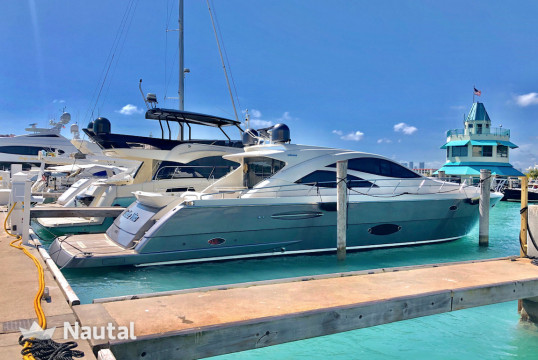 Motorboat rent Uniesse 70' Uniesse in Miami Beach, South Florida