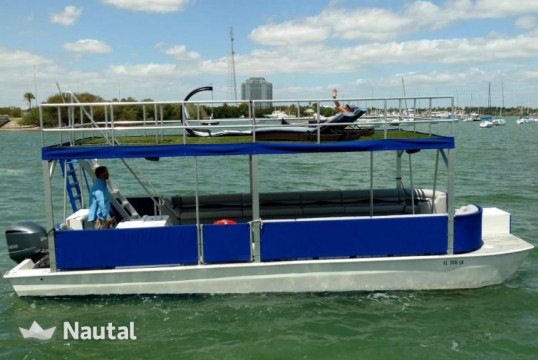 Motorboat rent Custom made 32ft in Miami Beach, South Florida