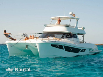 Fun, sea and relax in a luxury motor Catamaran  Med & Island living