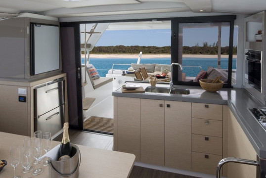Catamaran rent Fountaine Pajot Lucia 40 with watermaker & A/C - PLUS in Annapolis, Maryland