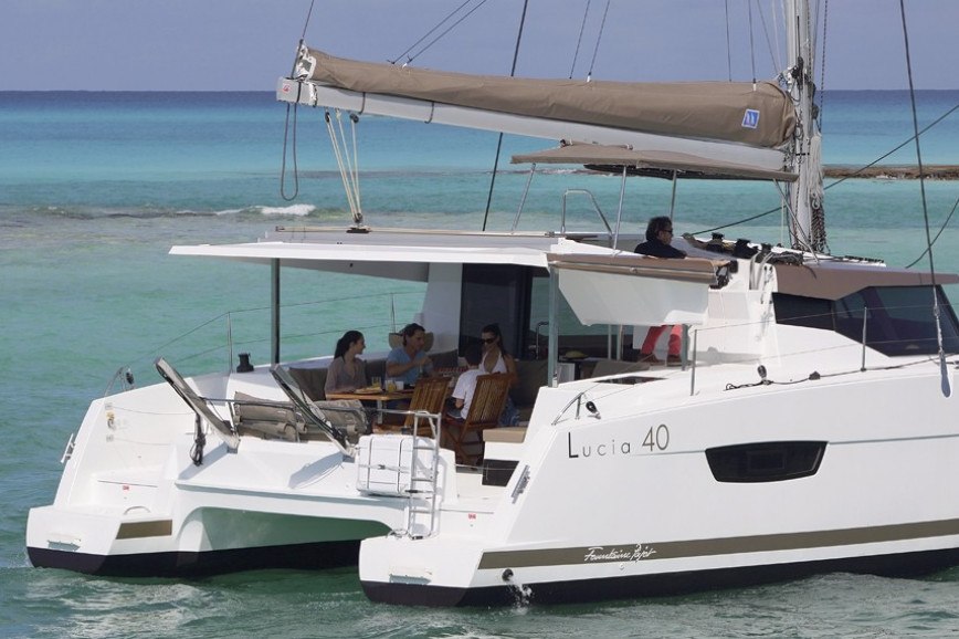 Huur catamaran Fountaine Pajot Lucia 40 with watermaker & A/C - PLUS in Annapolis, Maryland