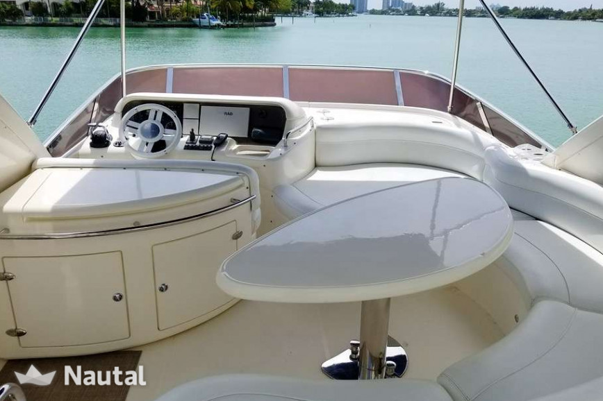 Motorboat rent Azimut 55 ft in Miami Beach, South Florida