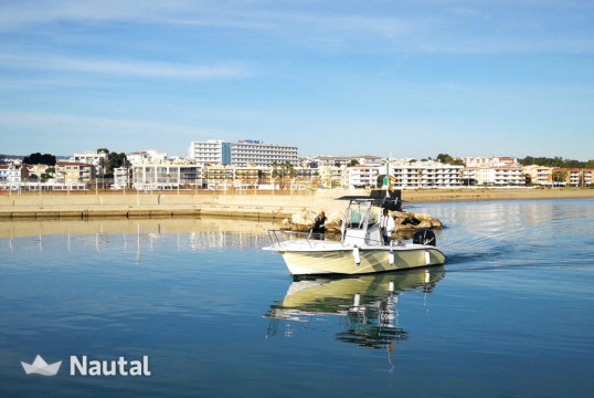 Fishing boat rent Boston Whaler FISHING RAPTOR 240 in Roda de Barà, Tarragona